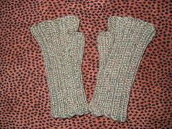 Ribbed Artist Gloves